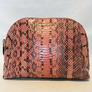 Michael Michael Kors Pink Cosmetic Bag.